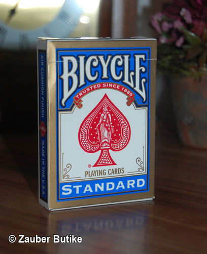 Bicycle Invisible Deck blau